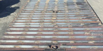 Steel Plates with Angle Iron